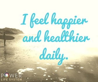 I feel happier and healthier daily image
