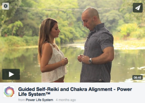 Power Life System reiki video image