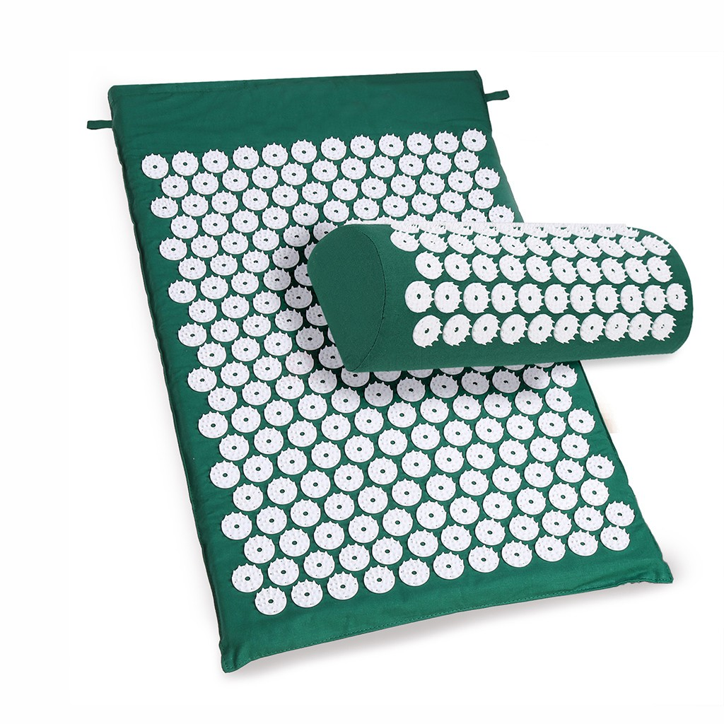 Acupressure mat for lower back pain